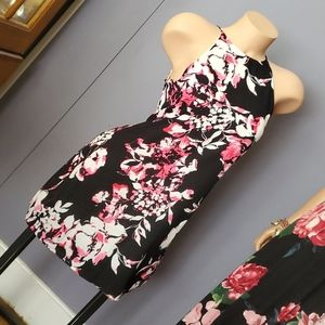 CLEARANCE Stunning Floral A Line Dress